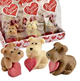Gunthart Marzipan Dog Assorted in Cellophan Bag and Tray