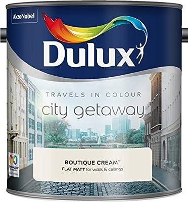 Dulux Reist in Farbe Flach Matt 2.5L Boutique-Creme
