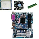 #3: KharidiyeBasic Zebronics Board H55 Chipset Motherboard with 2 Years Warranty,Intel Core I3-530 Processor with 2 GB DDR3 RAM CPU Fan