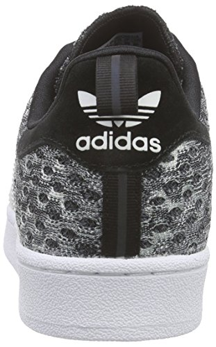 adidas Herren Superstar Glow in the Dark Low-Top Grau (Core Black/Ftwr White/Ftwr White)