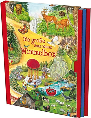 Die große Anne Suess Wimmelbox: 3 Wimmelbücher im Schuber (Von Sachen Alter 12 Jahren Mädchen Für Im)