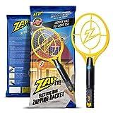 ZAP IT!. Bug Zapper-Rechargeable Mosquito, Tapette/Killer et Bug Zapper Raquette-4000Volt Chargement USB, Ultra Lumineux Lumière LED pour Zap dans Le Noir