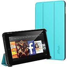 Fire 7 Funda, JETech Fire 7 Funda Carcasa Protección con Stand Función para Amazon Fire 7 Tablet (Modelo de 2015 5th Generación) (Azul)