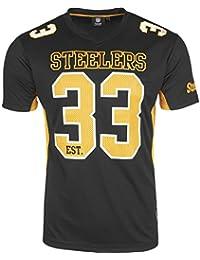 Majestic NFL PITTSBURGH STEELERS Moro Mesh Jersey T-Shirt, Größe:XL