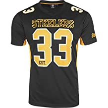 Majestic NFL PITTSBURGH STEELERS Moro Mesh Jersey T-Shirt, Größe:XL