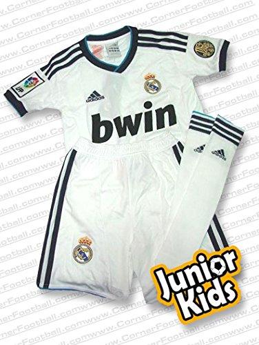Adidas REAL MADRID HOME MINIKIT Weiá Kinder Fuáball Kit Climacool Neu