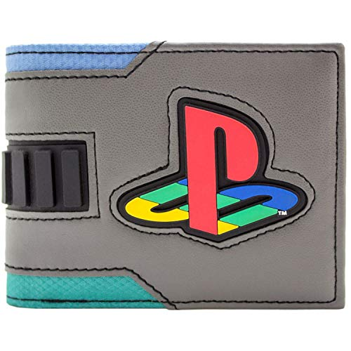 (Playstation 2 Konsole im japanischen Stil Grau Portemonnaie Geldbörse)