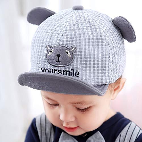 zhuzhuwen Soft Skull Cap Child hat Cartoon Baby hat 2019 Child Sun hat 9 48-50cmSuitable for 6-24 Months -