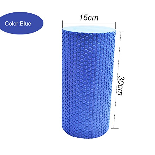 Iso Solid 30x15cm Home EVA Pilates Massage Trigger Point Fitness Yoga Foam Roller