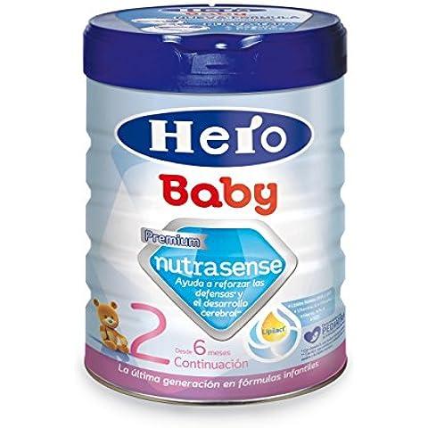 Hero Baby Leche Hbb Nutrasense Leche Infantil 2.800 g - 6 A 12 Meses - 800 g