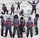 Moderei Auswahl an Schneeanzug | Schneeoverall Skianzug | Skioverall Snowboard Unisex | Jungen | Mädchen | Herren | Damen Schneeanzug Hauptfarbe-Schwarz-146