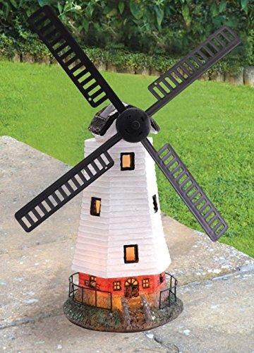 traditionel àénergie solaire Moulin à vent vent avec DEL lumière décoration jardin