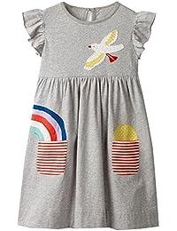 6363c2e920 Amazon.it: Grigio - Abiti / Bambine e ragazze: Abbigliamento