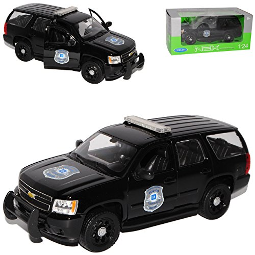 chevrolet-chevy-tahoe-suv-schwarz-police-ab-2006-1-24-welly-modell-auto