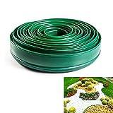 bordo del prato bordo di plastica bordo di plastica bordo del prato bordo del prato bordo del prato 10 m bordo lungo 11 cm di altezza Stadtpark (verde)