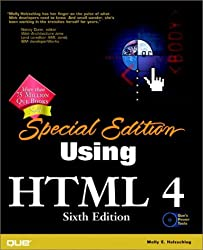 Special Edition Using HTML 4, Sixth Edition by Molly E. Holzschlag (1999-12-21)