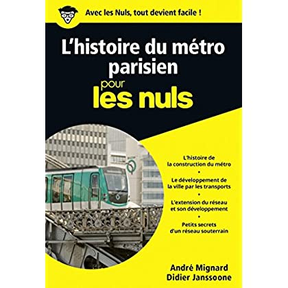 Le métro pour les Nuls poche (POCHE NULS)