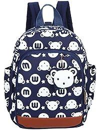 Preisvergleich für GWELL Süß Bunny Bär Babyrucksack Kindergartenrucksack Kleinkind Kinder Rucksack Mädchen Jungen Backpack Schultasche