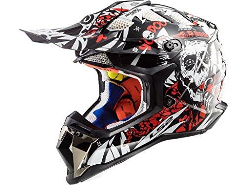 LS2 MX470 Subverter Voodoo Motocross Helm M (57/58)