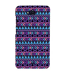 PrintVisa Designer Back Case Cover for Micromax Canvas Play Q355 (Girly Pattern Tribal Floral Fabric Culture Rajastan Andhra)