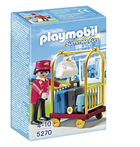 Playmobil - 5270 - Jeu de Construction - Bagagiste