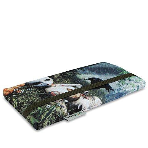 Stilbag Tasche 'MIKA' für Apple iPhone 7 plus - Design: Pink Loops Broken Dream