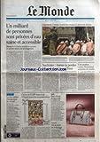 MONDE (LE) [No 19017] du 16/03/2006 - UN MILLIARD DE PERSONNES SONT PRIVEES D'EAU SAINE ET ACCESSIBLE - CISJORDANIE - L'ARMEE ISRAELIENNE ATTAQUE LA PRISON DE JERICHO - NUCLEAIRE - AREVA VA PERDRE UN GROS CONTRAT EN CHINE - L'ACCUSATION CONTRE MOUSSAOUI AMPUTEE DE MOITIE - LE DUR METIER D'INSPECTEUR DU TRAVAIL - CHIRAC ET L'UMP ENTOURENT VILLEPIN AVANT LES MANIFESTATIONS - ITALIE - DUEL PRODI-BERLUSCONI ENQUETE - VIE ET MORT DE FELICIAGGI....