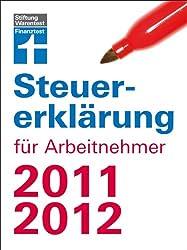 Steuererklärung für Arbeitnehmer 2011/2012