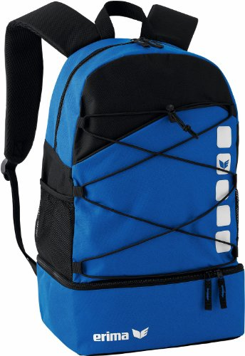 Erima 723340, Backpack Uni, New Royal/Nero, 1