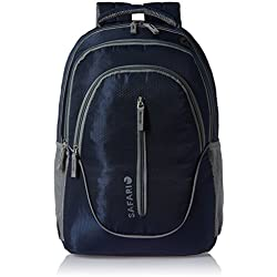 Safari 25 ltrs Laptop Backpack (Boing-Navy blue-LB)