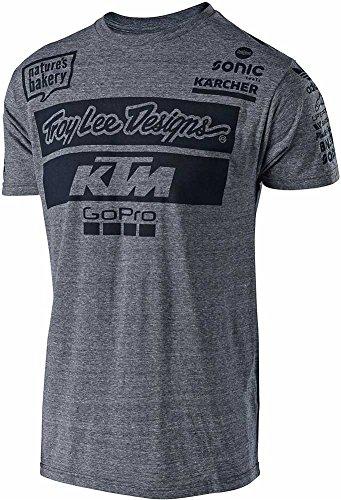 Troy Lee Designs Men's 2017 Team KTM Graphic T-Shirt-XL