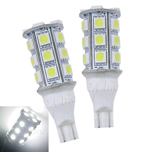 PA 2 x T15 T10 194 24smd 5050 LED Sauvegardez ampoule Blanc