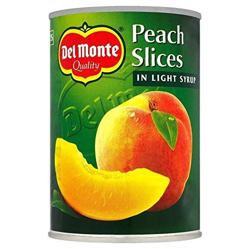 Del Monte Peach tranches au sirop léger (420g) - Paquet de 2