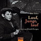 Lauf, Junge, lauf: Gelesen von Ulrich Pleitgen. 3 CD in der Multibox, 4 Std. (Beltz & Gelberg - Hörbuch) - Uri Orlev