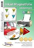 Your Design 20 Inkjet-Magnetfolien A4 matt/weiß