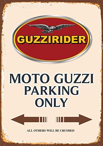 Moto Guzzi Parking only blechschild