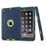 iPad Mini Case, iPad Mini 2 Case, iPad Mini 3 Case,ZERMU 3in1 Heavy