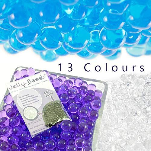Jelly Beads Wasserperlen - Hochzeitsdekoration für Empfang und Vasen für Tischaufsätze. Ideale Tischdekoration für Weihnachten, Tischdekoration in Einer transparenten Vase Multi