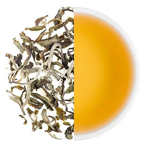 Teabox, Darjeeling Weißtee, 50 g (20 Tassen), aus Indien, ganzes Blatt, aus der Frühlingsernte von hochwertigen Weißtees