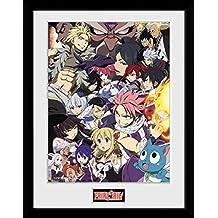 GB eye Fairy Tail, temporada 6Clave arte, enmarcado impresión 30x 40cm, varios