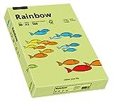 Papyrus 88042610 Druckerpapier Rainbow 80 g/m², A3 500 Blatt leuchtend grün
