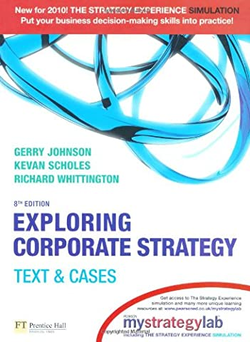 Exploring Corporate Strategy with MyStrategyLab: Text &