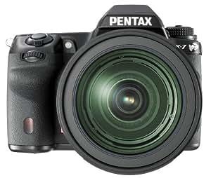 Pentax K-7 Appareil photo numérique Reflex 14.6 Mpix Kit + Objectif 16-50 mm + Objectif 50-135 mm Noir