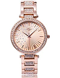 Spirit Ladies Analogue Round Rose Gold Dial With Rose Gold Bracelet Strap ASPL103X