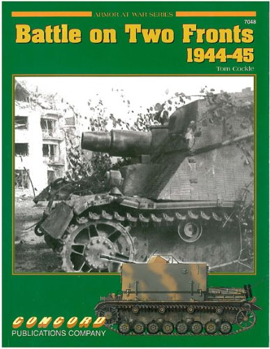 7048: Battle on Two Fronts 1944-1945 (Concord - Armor at War Series) por Tom Cockle