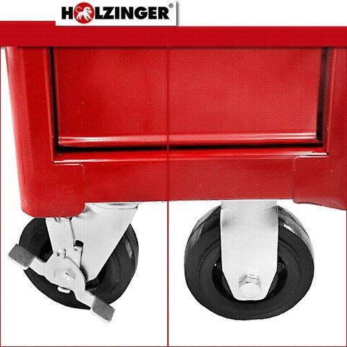 Holzinger Werkzeugwagen HWW1007KG - schwere Ausführung (7 Schubfächer) - 5