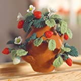 The Dolls House Emporium Erdbeerpflanze im Topf