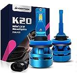 KOOMTOOM Mini LED H8/H11/E92 Lámparas para faros Kits - CREE Ture 360