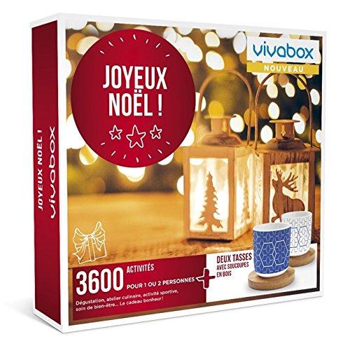 Vivabox - Coffret cadeau noel - JOYEUX NOEL ! - 3600 activités : soins, repas,...