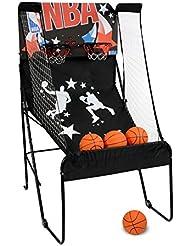NBA 4762 Panier de Basketball Garçon, Noir